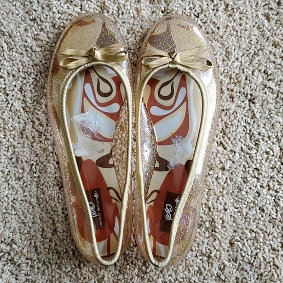 Womens ballet flat jellies